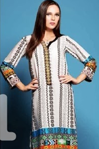 Spring 2014 Nisha By Nishat Linen Collection