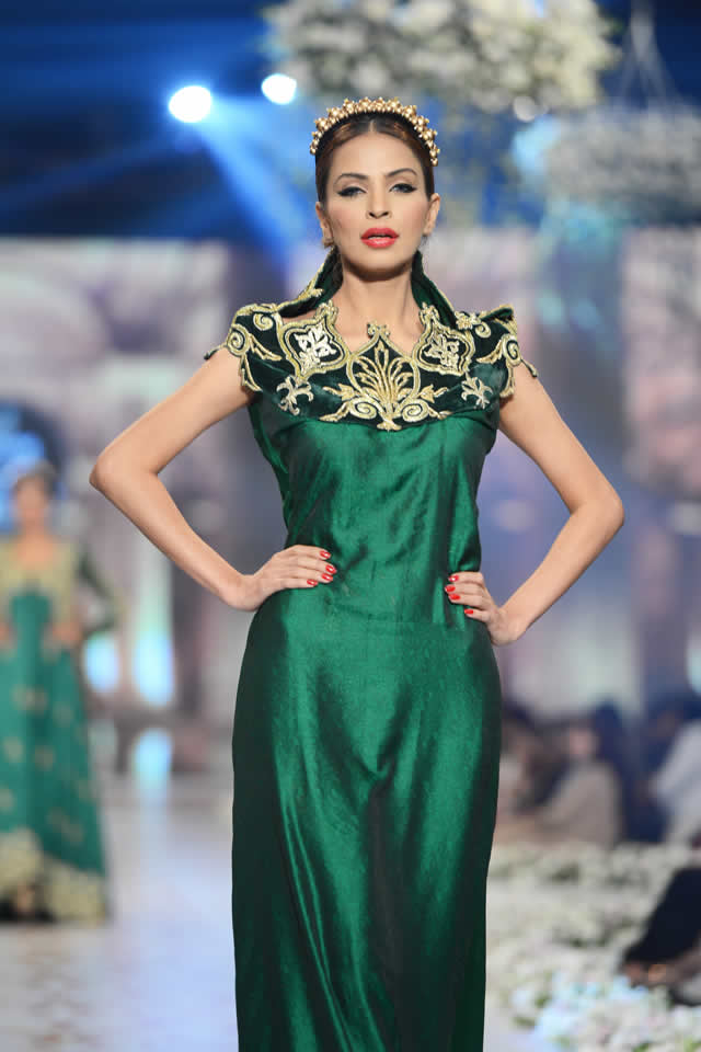 PBCW 2014 Tabassum Mughal Bridal Collection
