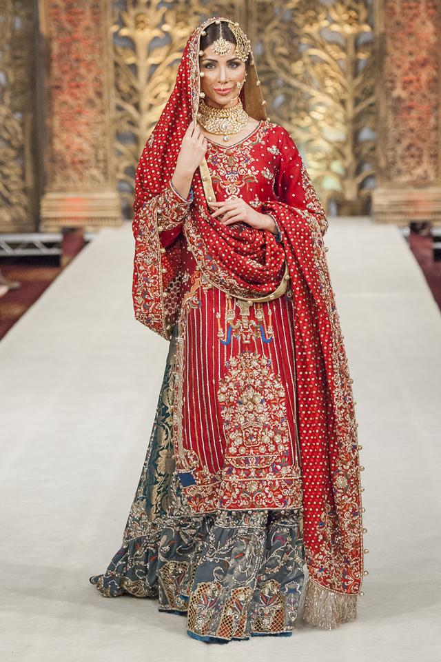 Rana Noman Bridal Collection At Pfwl 14