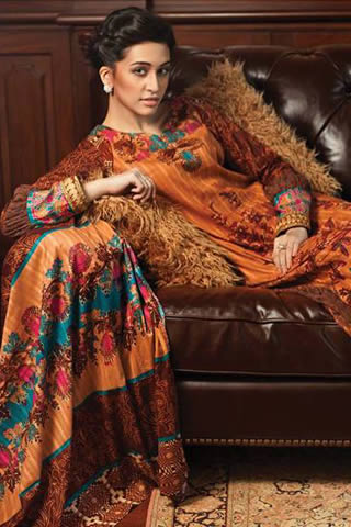 Read-to-Wear Fall Collection by Firdous 2013