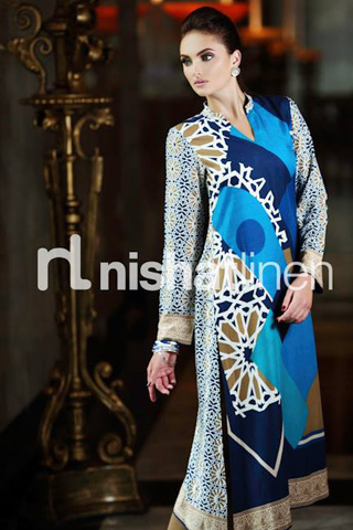 Ready to Wear 2014 by Nishat Linen, Latest Dresses by Nishat