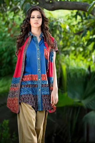 Ready to Wear Collection 2012 by Yahsir Waheed, Party Wear Collection 2012