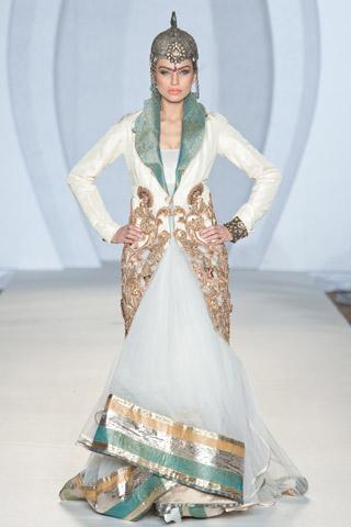 Saadia Mirza Collection at Pakistan Fashion Week 3 London 2012, PFW3
