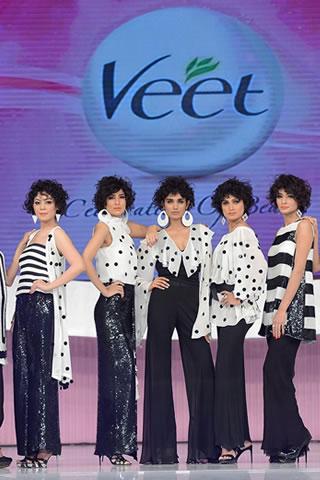 Sadaf Malaterre Collection at Veet Celebration of Beauty 2013