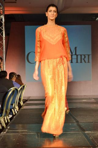 Sanam Chaudhri 2013 London Collection