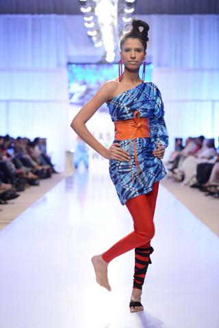 Sanam Chaudhri Collection at Fashion Pakistan Week 2012 Day 2
