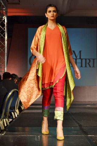 Sanam Chaudhri at Fashion Extravaganza 2013