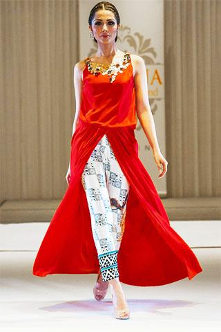 Sania Maskatiya Collection at London Fashion Week 2014