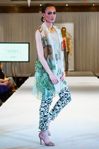 Sania Maskatiya 2014 London Summer Collection
