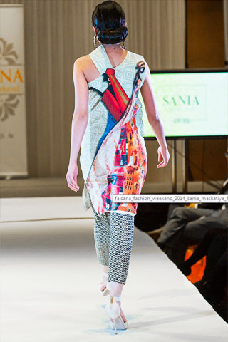 London Summer Sania Maskatiya 2014 Collection