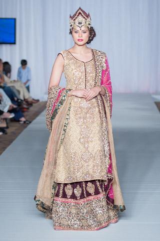 Sara Rohale Asghar at Pakistan Fashion Week London 2013