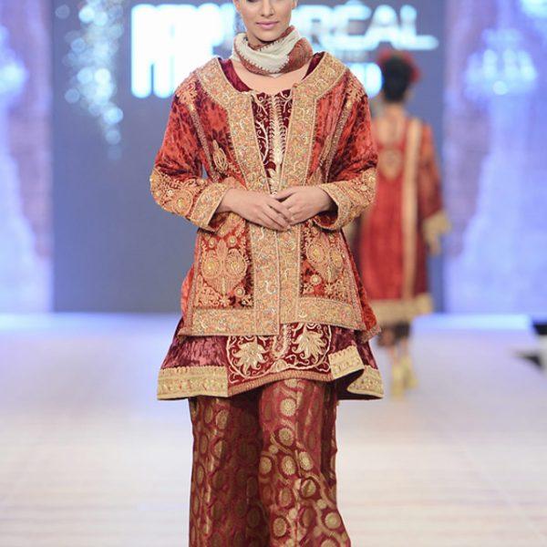 Shamaeel Ansari Bridal Collection at PFDC 2014