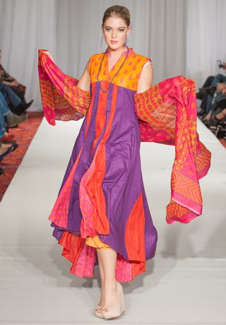 Shariq Textiles Collection at Pakistan Fashion Week 5 London, PFW