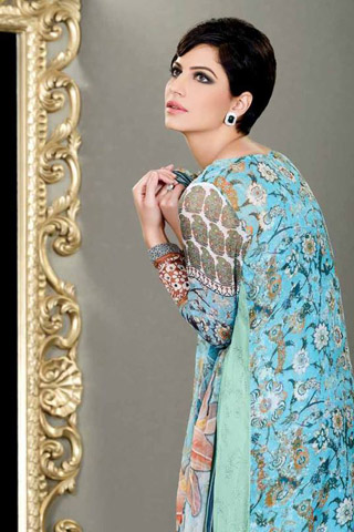 Spring Eid Collection 2013 by Sobia Nazir