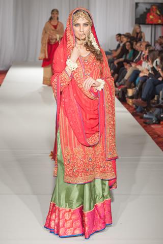 Sonya Battla Collection at Pakistan Fashion Week 5 London, PFW 2013