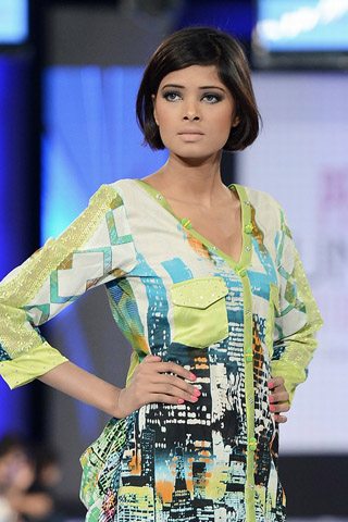 Moon Textile PFDC Sunsilk Fashion Week Collection 2013