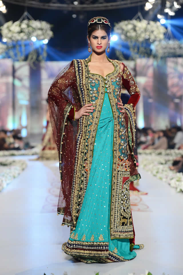 Tabassum Mughal Bridal 2014 PBCW Collection
