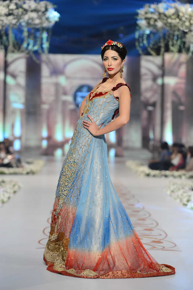 Tabassum Mughal Bridal PBCW 2014 Collection