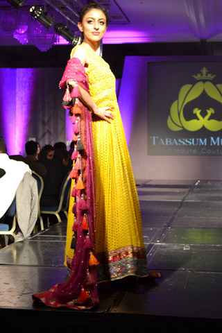 Tabassum Mughal at Pakistan Fashion Extravaganza London 2013