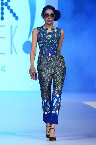 Teena by Hina Butt PFDC 2014 Summer Collection