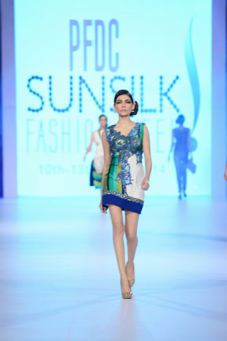 Teena by Hina Butt 2014 PFDC Summer Collection
