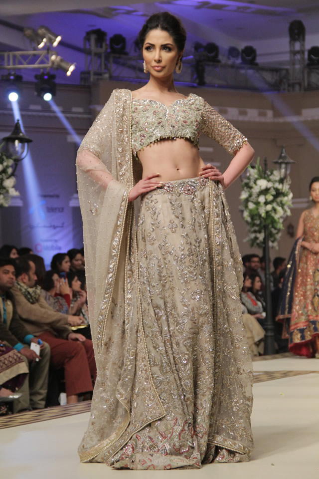 Tena Durrani Telenor Bridal Couture Week 2014 Collection