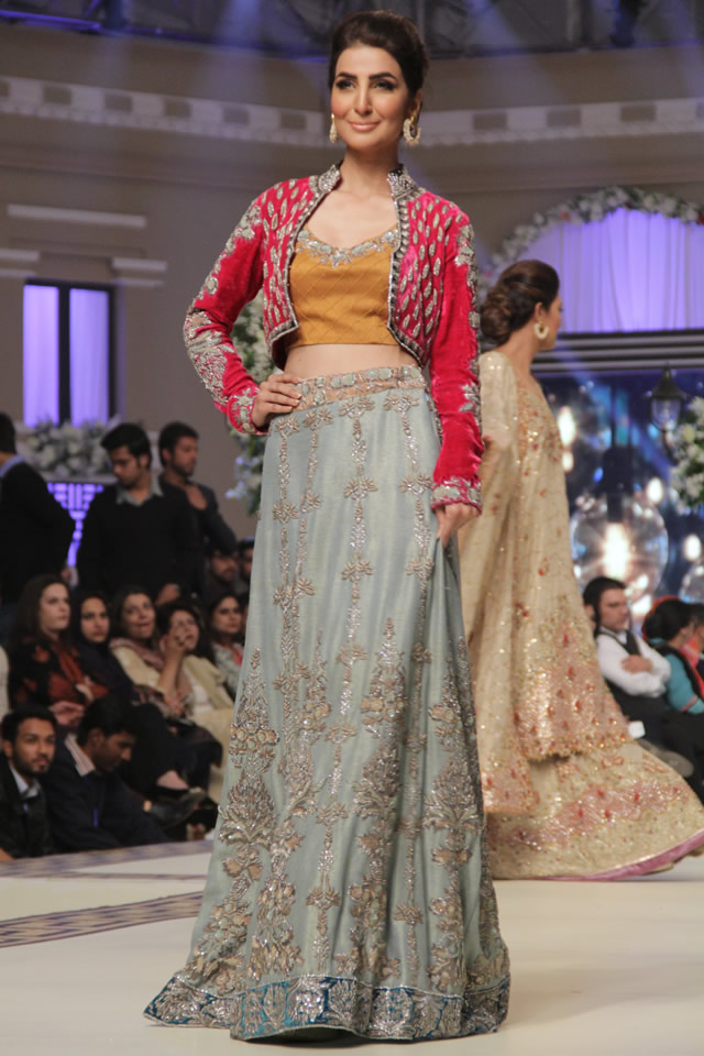 Bridal Tena Durrani 2014 Perenia Progressive Collection