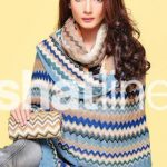 Winter Shawl Latest Nishat 2013 Collection
