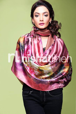 Latest Nishat Winter Shawl Collection