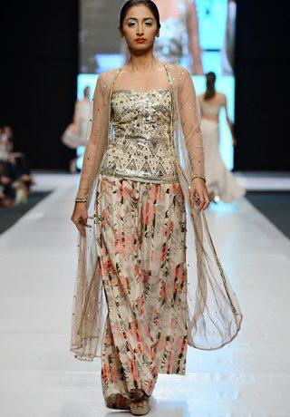 Zari Faisal Collection at Fashion Pakistan Week 2013 Day 1 Karachi