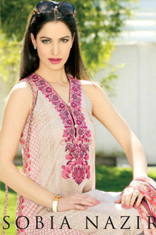 Spring Lawn Prints by Sobia Nazir