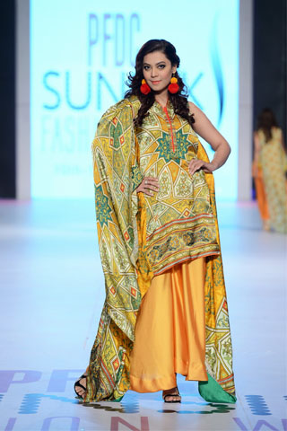 Warda Prints Collection at PFDC Sunsilk Fashion Week 2014 Day 4