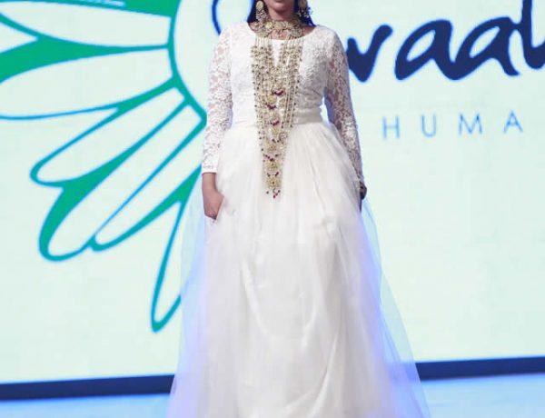Huma Nassr of Braahtii Dresses at Shaan-e-Pakistan 2016