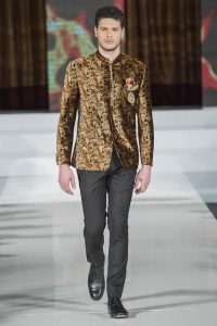 Abdul Samad Mens Collection at PFW 10 London