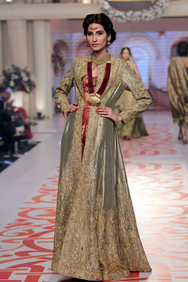 Telenor Bridal Couture Week 2015 Adnan Pardesy Wedding Dresses