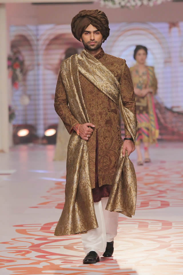 2015 Telenor Bridal Couture Week Adnan Pardesy Wedding Collection Pictures