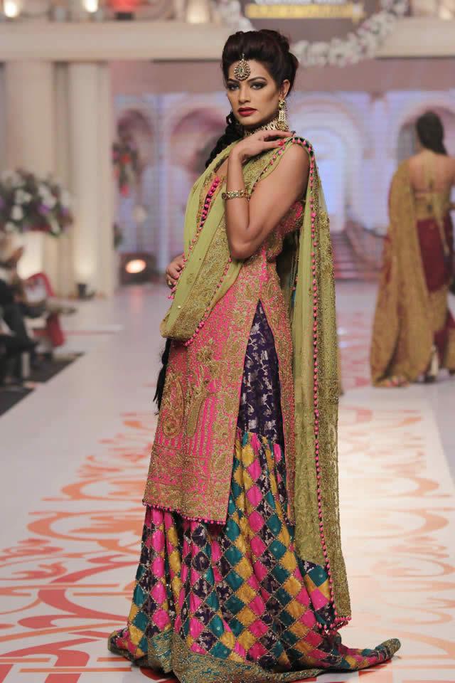 Telenor Bridal Couture Week 2015 Adnan Pardesy Wedding Dresses Pics