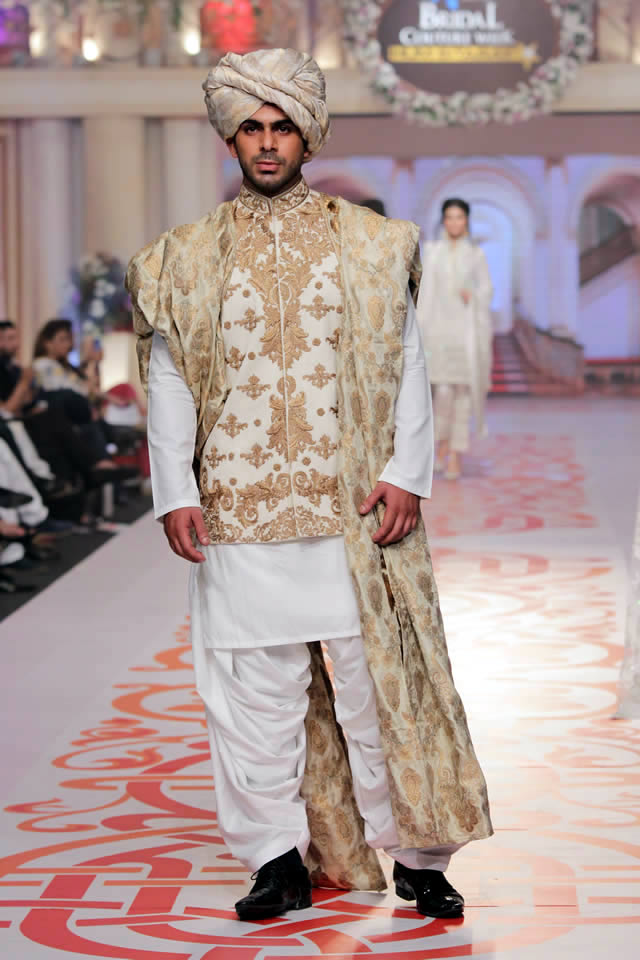 Designer Adnan Pardesy Dresses Telenor Bridal Couture Week 2015