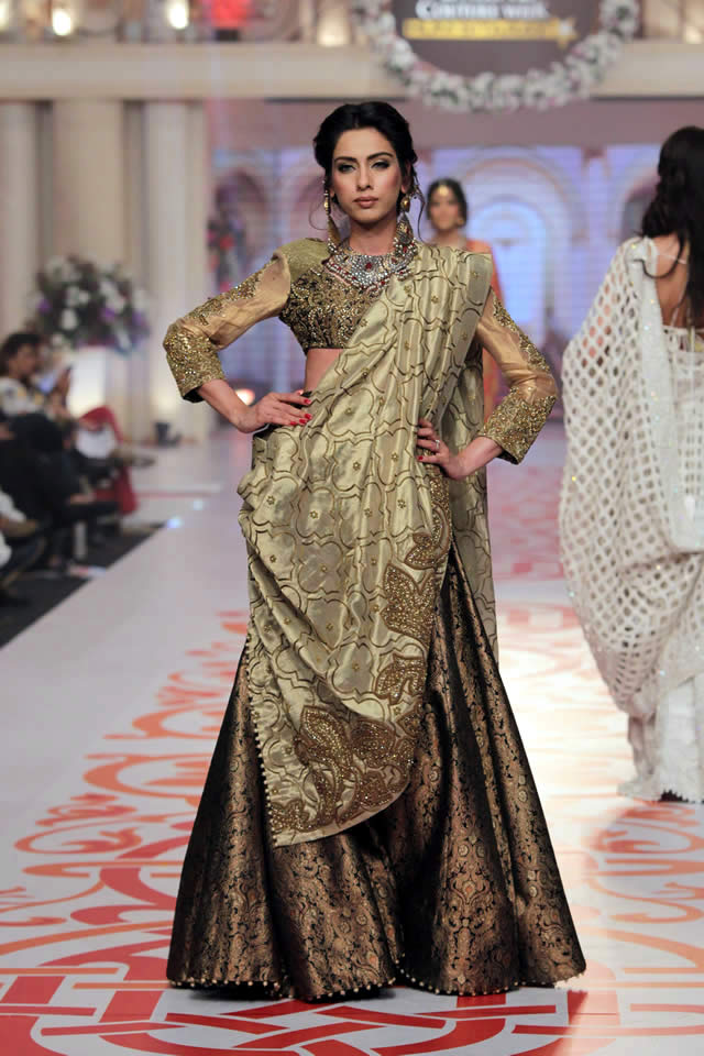 Fashion Designer Adnan Pardesy Dresses Telenor Bridal Couture Week 2015