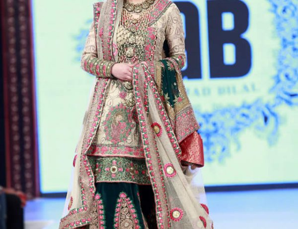 Ahmed Bilal Bridal Dresses at Shaan-e-Pakistan 2016
