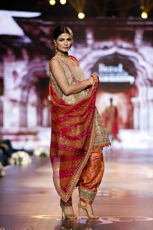 Designer Aisha Imran Dresses Bridal Couture Week 2016