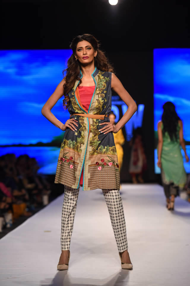 Telenor Fashion Pakistan Week 2015 Al Karam Dresses Collection