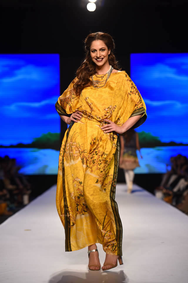 2015 Telenor Fashion Pakistan Week Al Karam Formal Colleciton Pictures