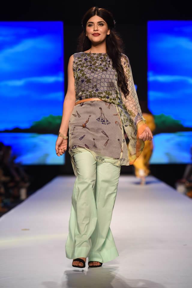 Telenor Fashion Pakistan Week 2015 Al Karam Dresses Gallery