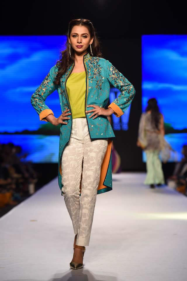 Telenor Fashion Pakistan Week 2015 Al Karam Dresses Collection Photo Gallery