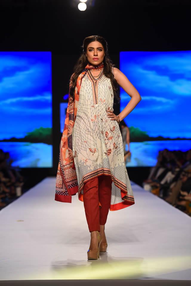 2015 Telenor Fashion Pakistan Week Al Karam Summer Dresses Picture Gallery