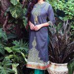 Eid Festival 2015 Al Karam Formal Dresses Pics