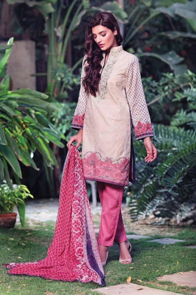 2015 Eid Festival Al Karam Formal Dresses Pics