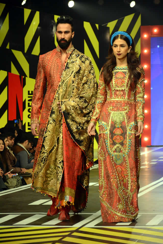 2016 Ali Xeeshan Dresses Collection Images