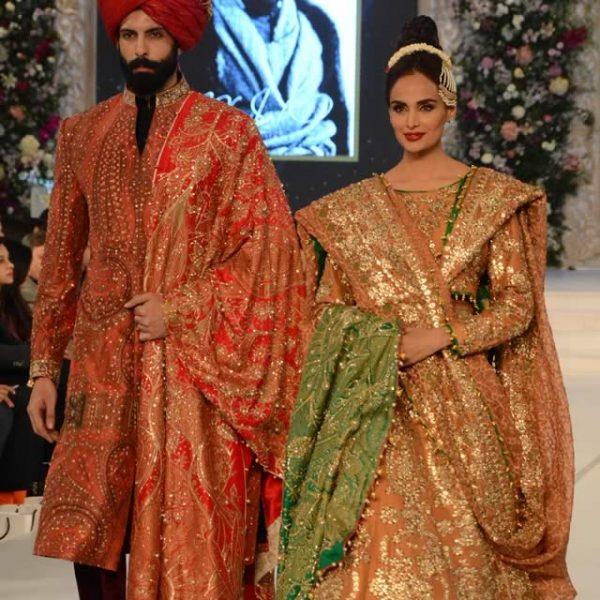 Ali Xeeshan's Tuffan Collection PFDC L'Oréal Paris Bridal Week